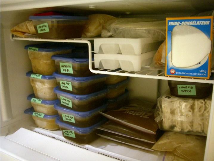 Le suivi de température du frigo