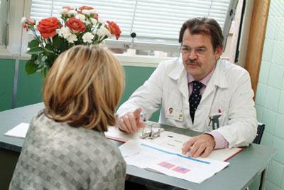 un examen médical pour être embaucher