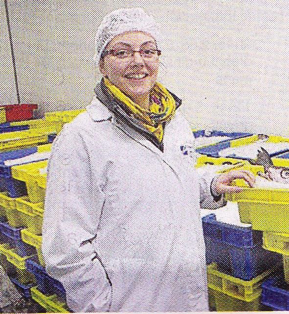 Photo de Jennifer leroux, responsable QHSE dans une PMS.