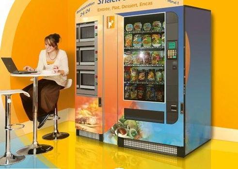 Distributeur automatique de plats cuisinés