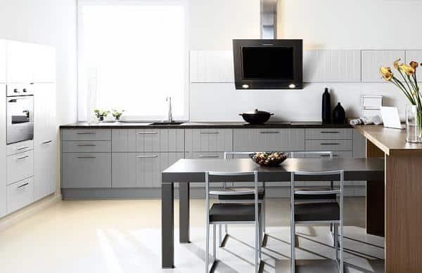 Une cuisine aménagée