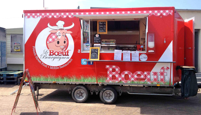 Food-truck : Le Boeuf Bourguignon