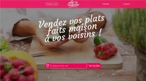 Site internet de Plat Maison (c)2014 Maxime et Guillaume