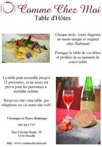 """""""La table d'hôte de Véronique"""""""